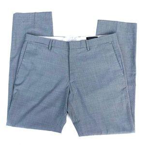BANANA REPUBLIC slim fit gray check trousers slack